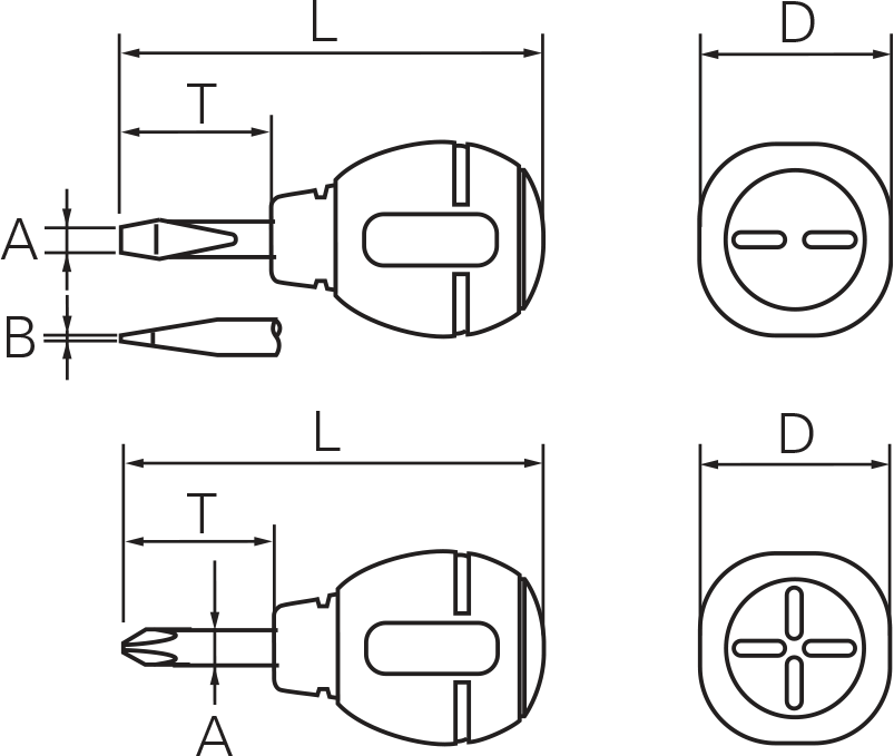 KTC TD902 Technical Drawing