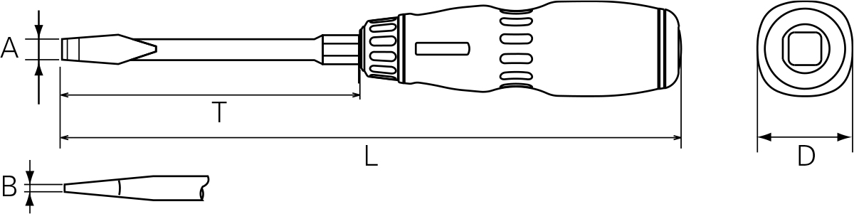 Nepros ND1M-6 Technical Drawing