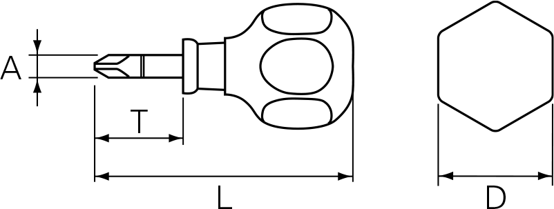 Nepros ND3PS-2 Technical Drawing